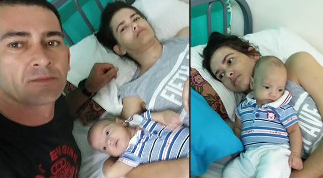 Komada doğum yaptı, doktorlar ümidi kesti ama bebeğinin sesiyle...