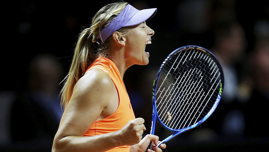 Maria Sharapova muhteşem döndü !