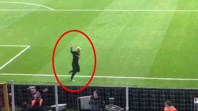 Beşiktaş maçının ardından şaşırtan görüntü...