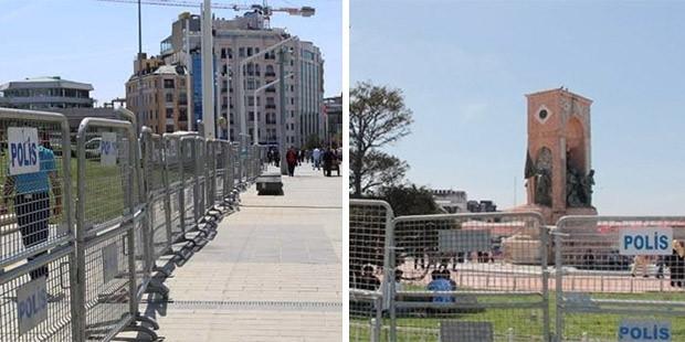 Taksim Meydanı yarına hazır