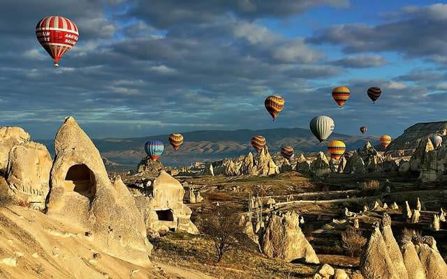 Türkiye'nin cenneti Kapadokya'da bir ilk