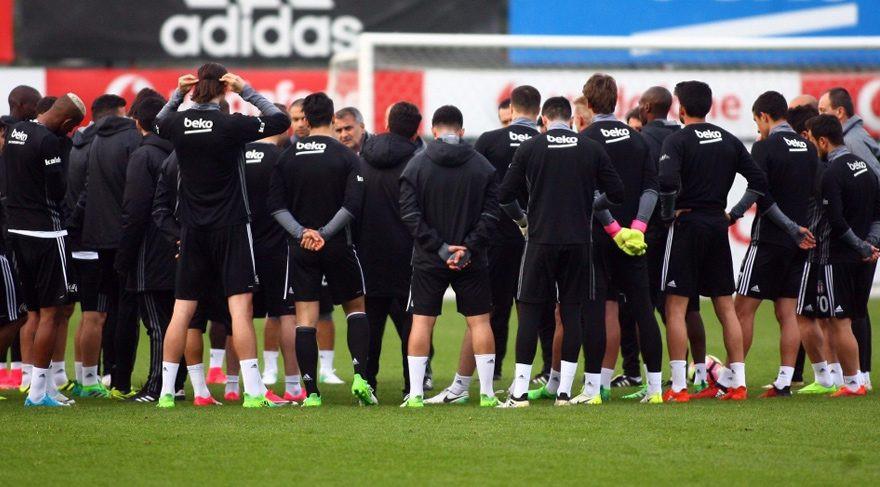 Beşiktaş Trabzonspor maçına hazır