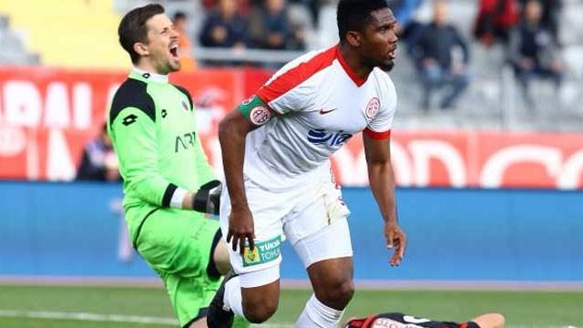 Antalyaspor, Samuel Eto'o'ya takıldı !