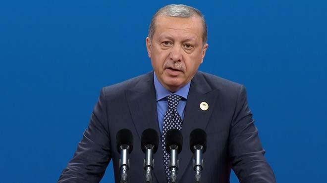 Erdoğan'dan Vakıfbank'a tebrik
