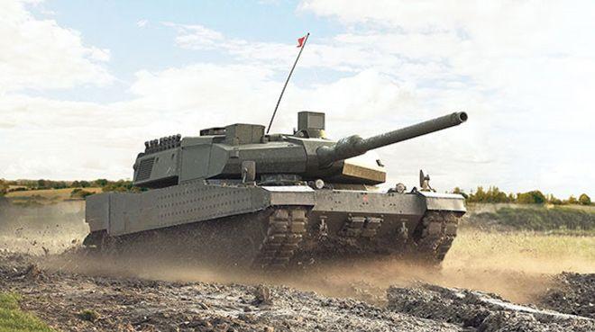 Altay tankında seri üretim başlıyor