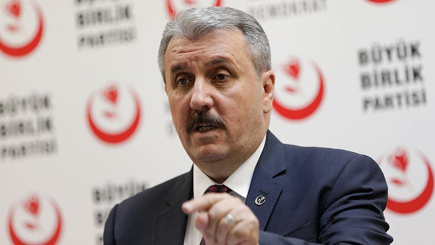 Destici'den Erdoğan'ı kızdıracak OHAL açıklaması