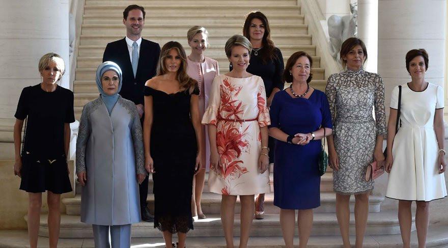 First Lady'ler arasında eşcinsel Başbakan eşi