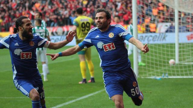 Eskişehirspor play-off'ta finalde !
