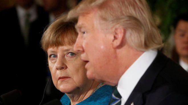 Trump-Merkel krizinde sürpriz geri adım