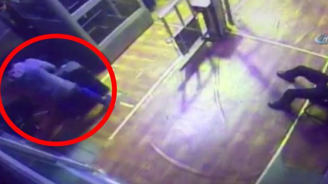 Valize Ukraynalı kadın saklamış !