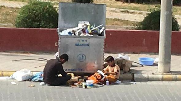 Suriyelilerin bu fotoğrafı günün karesi oldu