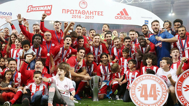 Olympiakos resmen şampiyon