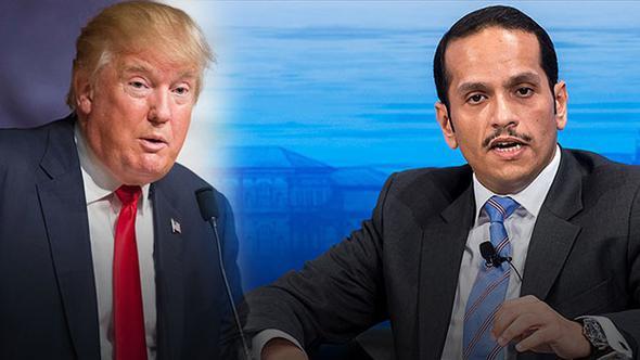 Katar'dan Trump'a cevap gecikmedi