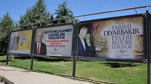 Diyarbakır'da Binali Yıldırım hazırlığı