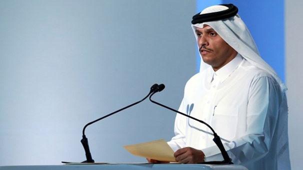 Katar resti çekti ! ''Müzakere yok''
