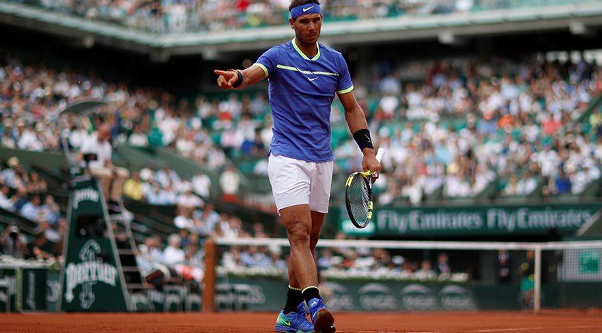 Nadal Fransa Açık'ta fark ettı
