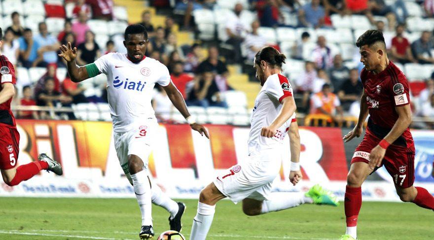 Antalyaspor'dan müthiş kapanış !