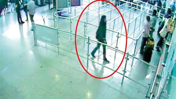 Atatürk Havalimanı'nda kıskıvrak yakalandı