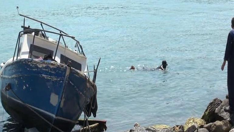 Sarıyer'de tekne kazası; 3 yaralı