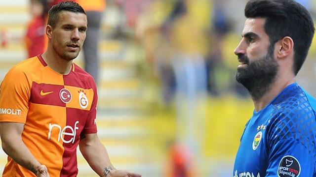 Podolski'den Volkan Demirel'e gönderme