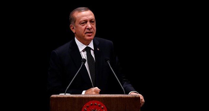 Erdoğan safını belli etti ! ''Katar krizinin arkasında...''