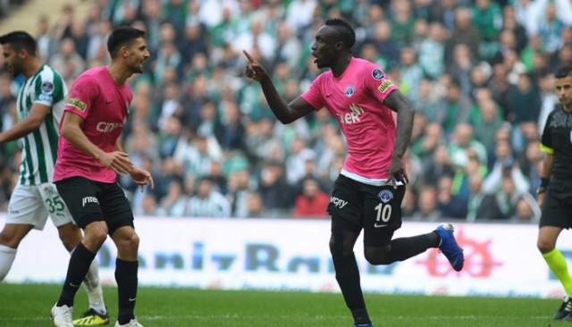 Mbaye Diagne, Avrupa'nın zirvesine çıktı!