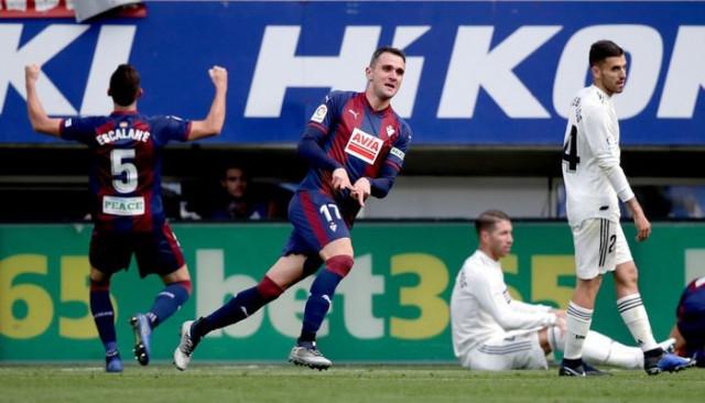 Eibar 3 - 0 Real Madrid