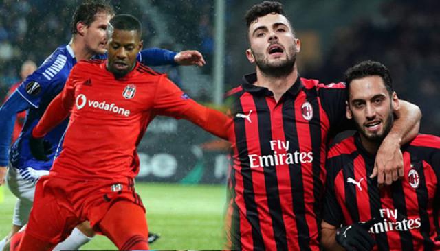 Hakan Çalhanoğlu ve Jeremain Lens UEFA Avrupa Ligi'nde haftanın futbolcusuna aday
