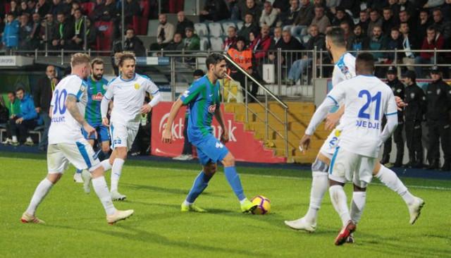Çaykur Rizespor 1 - 1 Ankaragücü (Maç özeti)