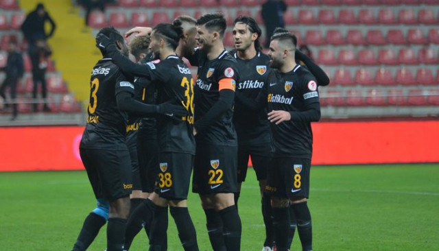 Kayserispor 4 - 1 Altay (Ziraat Türkiye Kupası)