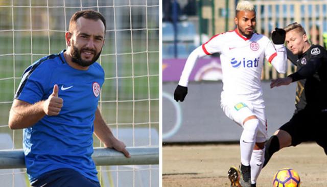 Antalyaspor, Olcan ve Danilo ile yollarını ayırdı