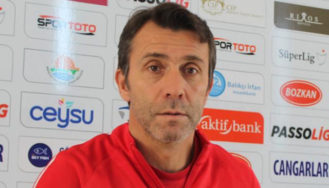 Bülent Korkmaz: Fenerbahçe karşısında kazanmak istiyoruz