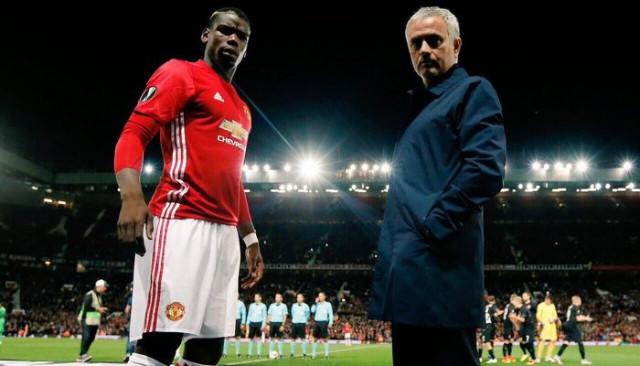 Paul Pogba'dan Jose Mourinho'ya teşekkür