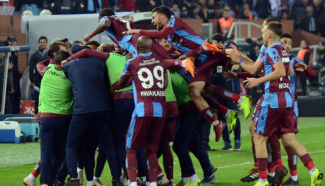 Trabzonspor evinde kral