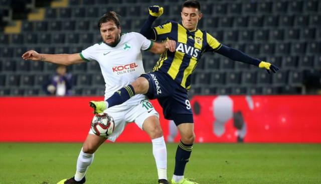MAÇ ÖZETİ   Fenerbahçe 1 - 0 Giresunspor (Ziraat Türkiye Kupası)