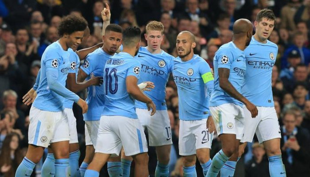 Manchester City'den gol yağmuru