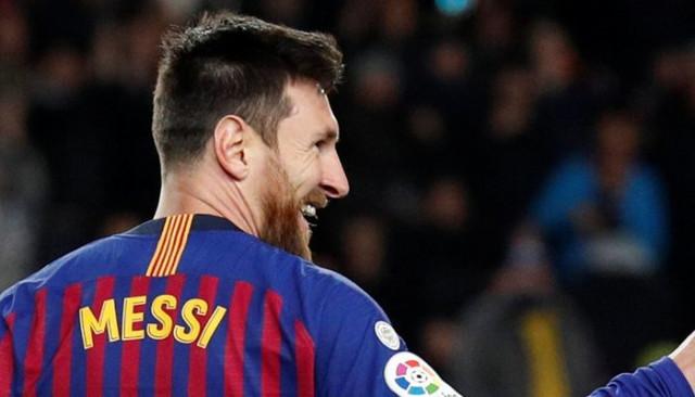 Messi, La Liga'daki 400. golünü attı