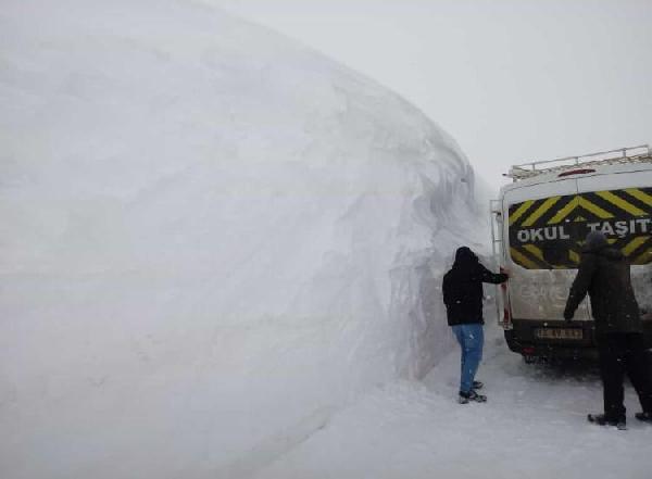 18 gün kar tatili yapan öğrenciler ders başı yaptı