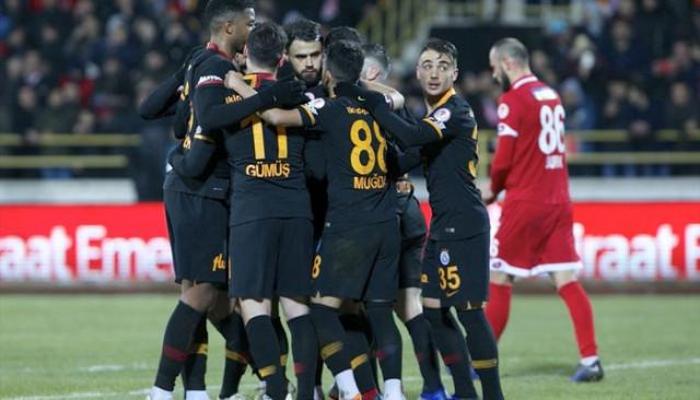 Galatasaray'ın gençleri Boluspor galibiyetini değerlendirdi