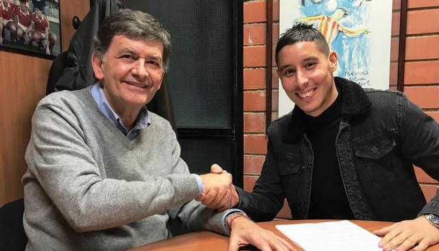 Abdelaziz Barrada Gimnastic de Tarragona'ya kiralandı