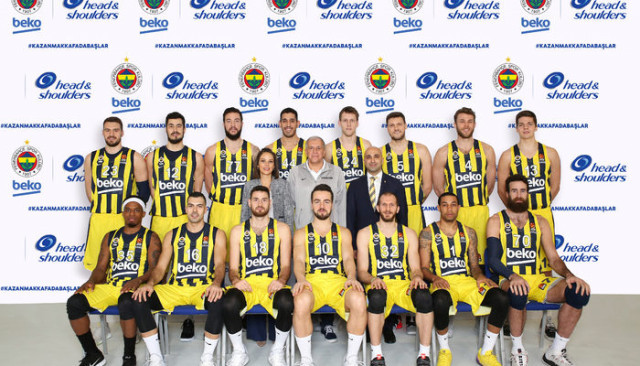Head & Shoulders, Fenerbahçe Beko Erkek Basketbol Takımı'nın 'Özgüven Sponsoru' Oldu