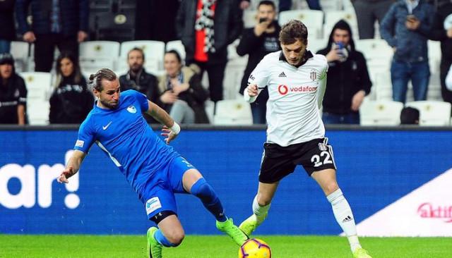 Beşiktaş 1 - 1 Erzurumspor