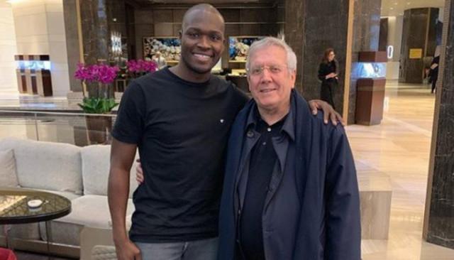Moussa Sow'dan Aziz Yıldırım'a: Benim için bir babasınız