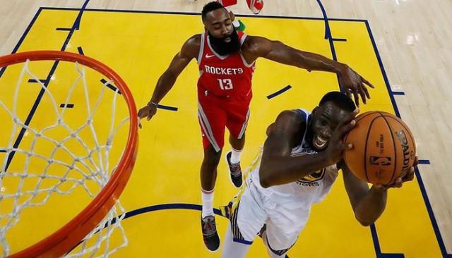 James Harden son saniye basketiyle Warriors'ı yıktı