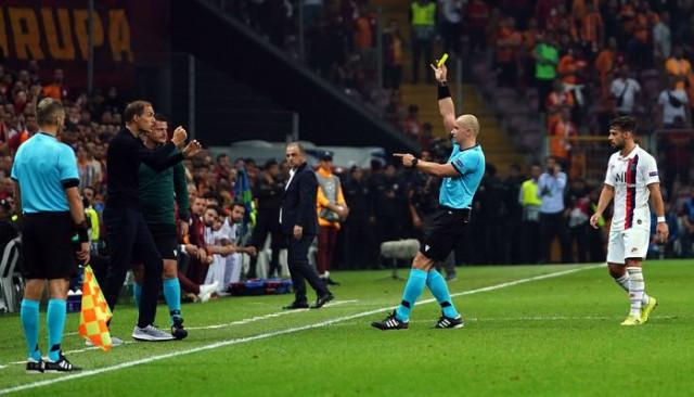Thomas Tuchel, Şampiyonlar Ligi'nde sarı kart gören ilk teknik adam oldu