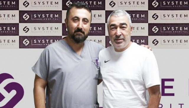 Samet Aybaba sağlık kontrolünden geçti