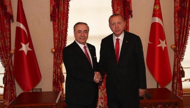 Mustafa Cengiz'den Cumhurbaşkanı Recep Tayyip Erdoğan'a ziyaret
