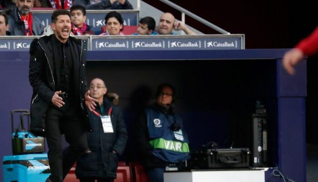 Diego Simeone: Falcao vardı, kazandım