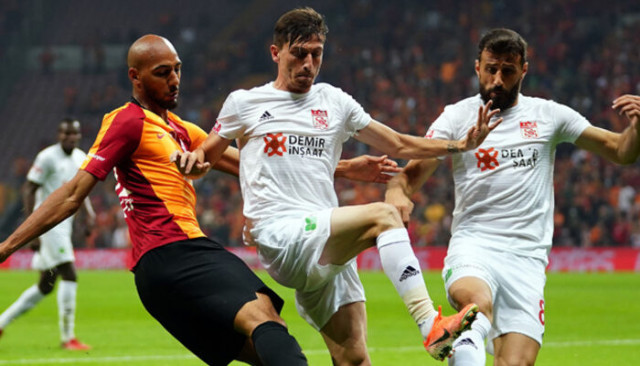 Sivasspor maç 5 sonra yenildi
