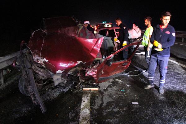 Bolu'da korkunç kaza: Aynı aileden 3 kişi öldü
